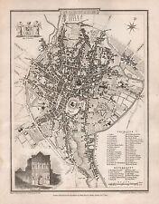 Plan de ciudad 1816 G Cole & J Roper: Norwich