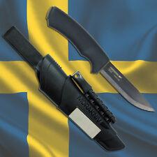 Mora Knife: MORAKNIV BUSHCRAFT SURVIVAL BLACK - Outdoor Mora Carbon Knives