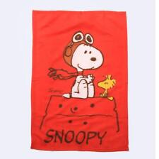 "Cute Snoopy Peanuts Supersoft Middle Plush Cape Blanket Throw Cover 37""x23"""