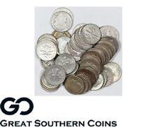 Roosevelt Dime, 90% Silver 10c, $5 Face Value