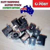 10pcs DC-005 Black DC Power Jack Connector DC005 5.5x2.5mm PCB - Asia Sell
