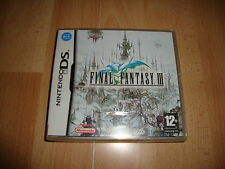 Final Fantasy III Nintendo DS - NDS