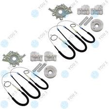 Para VW Polo (6n2) Cjto de reparación elevalunas cordón-set delantero IZQUIERDO + DERECHO