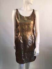 Bill Blass Gold Dress