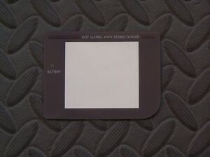 Gray Plastic Protector Outer Screen Lens for Nintendo GameBoy Classic Fat DMG-01