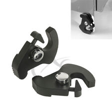 Detachable Rotary Sissy Bar Luggage Rack Docking Latch Clips For Harley Davidson