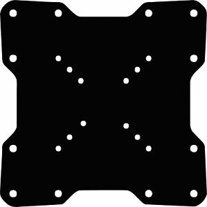 200X200 Black VESA Mount Adaptor Plate Bracket