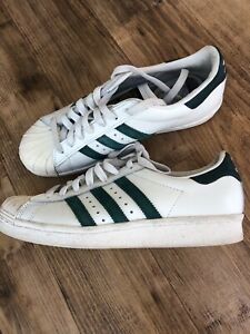 ADIDAS SUPERSTAR PCI 789002 11/14 TRAINERS - SIZE 5 - SEE PHOTOS