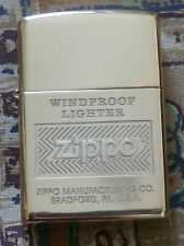 DISCONTINUED PLAIN ZIPPO WINDPROOF ZIPPO LIGHTER FREE P&P FREE FLINTS