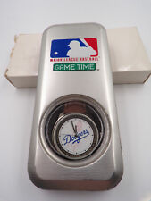 MLB ~ GAME TIME ~ LA LOS ANGELES DODGERS ~ COLLECTOR LEATHER WRIST WATCH ~ NEW