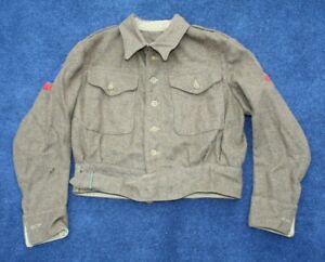 WW2 1945 Dated British Highland Other Ranks Khaki Battle Dress Tunic / Blouse.
