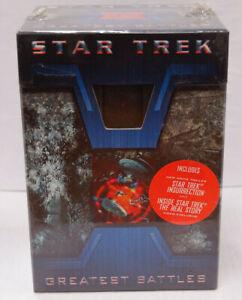 Star Trek Greatest Battles Red Alert VHS Tapes Boxset 4 Volumes 2.4 26109 I10