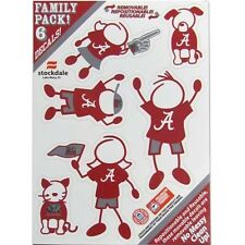Alabama Family Decal Sticker Set