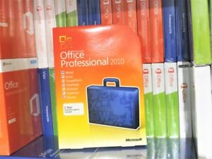 Microsoft Office 2010 Professional Word Excel Powerpoint Outlook Access DVD 365