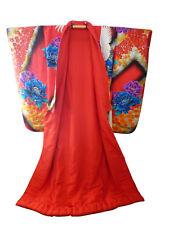 Breath Taking Yuzen Uchikake Wedding Kimono