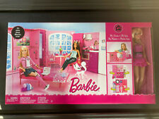 Barbie My House - Modular Dolls House - Mattel N8376 50 pieces includes 1 doll