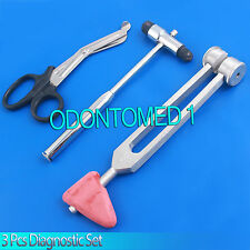 3 Pcs Set Diagnostic Emt Nursing Surigcal Ems Supplies Odm-638
