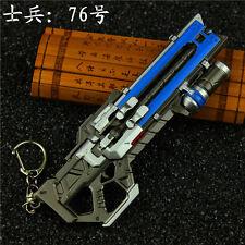 1/6 OVERWATCH Ninjia Warriors SOLDIER 76 Hanzo GENJI Weaopn GUN Alloy 13cm 5.2in