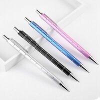 4PCS 0.5mm Metal Mechanical Pencil Press Automatic Pens for Writing Drawin X4F5