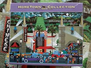 Hometown Collection ~ Grumman's Chinese Theatre ~ 1000 Piece Puzzle