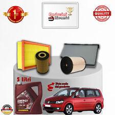 Filtres Kit D'Entretien + Huile VW Touran II 2.0 Tdi 81KW 110CV à partir de 2015