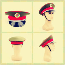 36a9241b4e1 Military Officer Visor Hat Chinese Communist Army Cap badge 59cm Collection