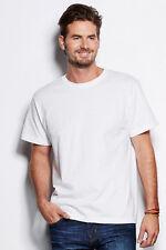 tee-Shirt 20x Stedman Hommes Manches Courtes Coton Col Rond Blanc choix libre