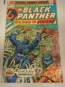 Marvel JUNGLE ACTION #18 (1975) Madame Slay, Venomm, Klaus Janson, Bob McLeod
