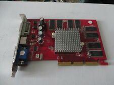 ATI AMD VGA AGP 8X RADEON 9550 256MB DVI + VGA + TV-OUT V/D/VO AGP8x