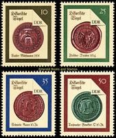 EBS East Germany DDR 1988 - Historical Seals (II) set - Michel 3156-3159 MNH**