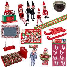 Christmas Elf Behavin' Badly Elf Dolls & Accessories - Choose Design