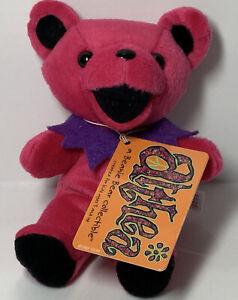 Grateful Dead Plush ALTHEA PINK- NO PAW Pads Beanie Bear W/ Tag