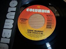 """VG++ 1985 Eddie Murphy C-O-N Confused / How Could It Be 7"""" 45RPM w/ppr slv"""