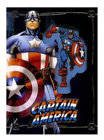 2015 Upper Deck Captain America Comic Con Exclusive Embedded Patch Card Marvel
