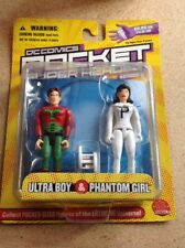 DC COMICS POCKET SUPER HEROES SERIES 2 ULTRA BOY & PHANTOM GIRL NOC 2003