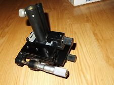 NEWPORT 420 TRANSLATION STAGE WITH NEWPORT MICROMETER + EXTRAS