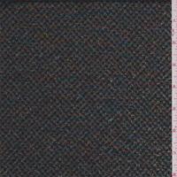 Black Rainbow Metallic, Fabric By The Yard