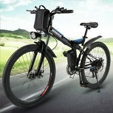 E Bike Mountainbike 26 Zoll Elektrofahrrad Klappbar Für Herren Damen 32 km/h 36V