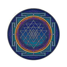 Sri Yantra Mandara art window sticker