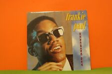FRANKIE PAUL - REACHING OUT - 1988 BLUE MOUNTAIN FRANCE - REGGAE EX LP RECORD