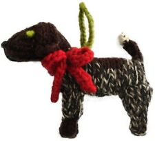 Chilly Dog German Short Haired Pointer Ornament All Wool Fair Trade