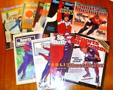 Speed Skating - Sports Illustrated - Lot of 9 - Winter Olympics 1972-2002 - Ohno