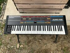 Roland JUNO-106 6 voice programmable polyphonic synthesizer serviced.