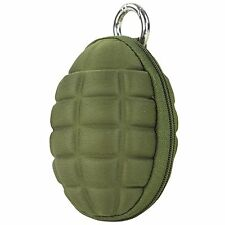 Condor Grenade Keychain Zippered Coin Money Change Wallet Pocket Pouch OD Green