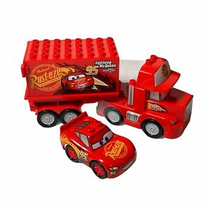 Lego DUPLO Disney Pixar Cars Mack the Semi Truck & Lightning McQueen