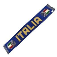 Sciarpa Italia Nazionale FIGC Federazione Jacquard Azzurri Ufficiale Originale