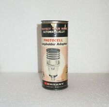 New listing Vintage Bryant Photoelectric Lampholder Adapter, 150W