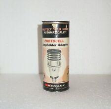 Vintage Bryant Photoelectric Lampholder Adapter, 150W