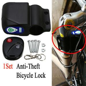 Fahrradschloss Moped Roller Sicherheit Alarmanlage Sirene Diebstahlschutz 113dB