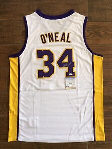 Shaquille O'Neal Autographed White Lakers Jersey Signed PSA/DNA ITP COA